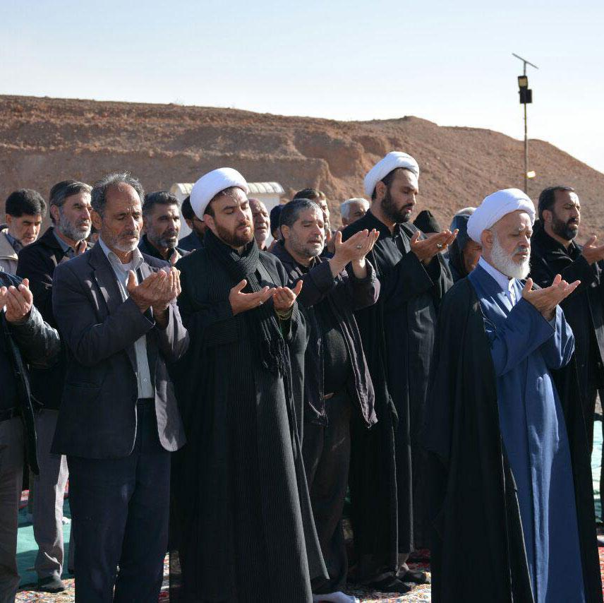 نماز باران حجت الاسلام والمسلمین حسن صفرزاده تهرانی